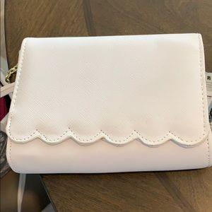 Brand New White Crossbody purse